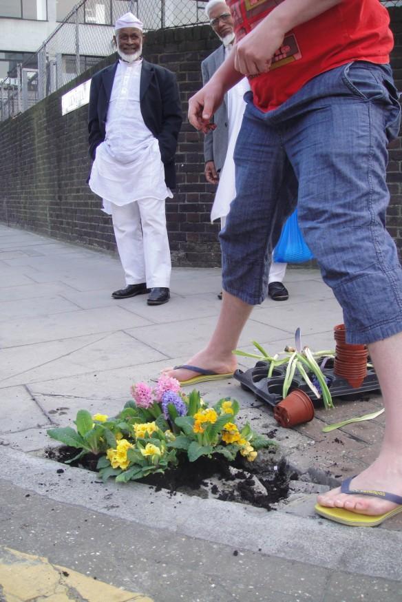 pothole gardener homebase
