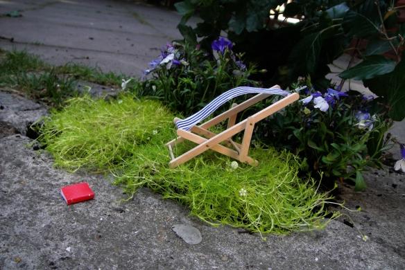Pothole garden East London Guerilla Gardening Steve Wheen Chelsea Flower Show