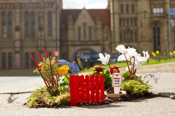 pothole gardener manchester university